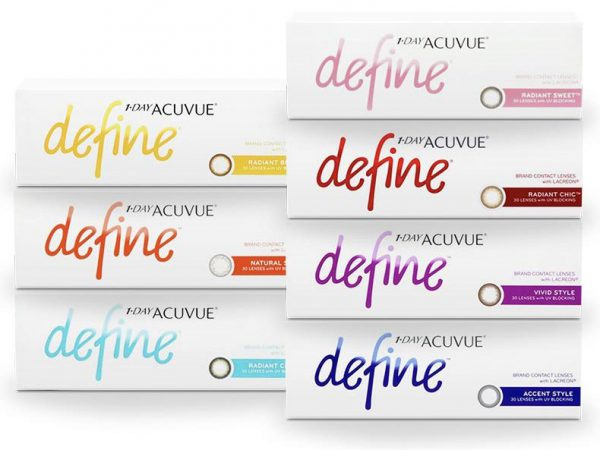 1-Day Acuvue Define with Lacreon Daily 30pcs ( COLOR )