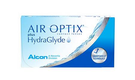 AIR OPTIX® plus HydraGlyde ® Contact Lenses