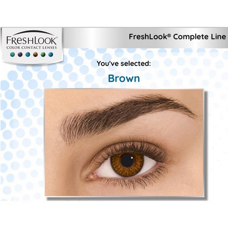 Freshlook Colorblends Cosmetic Monthly Contact Lens