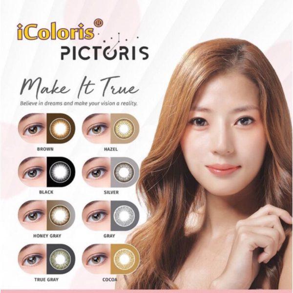 Bionics iColoris Pictoris Monthly Colour Lens New Color