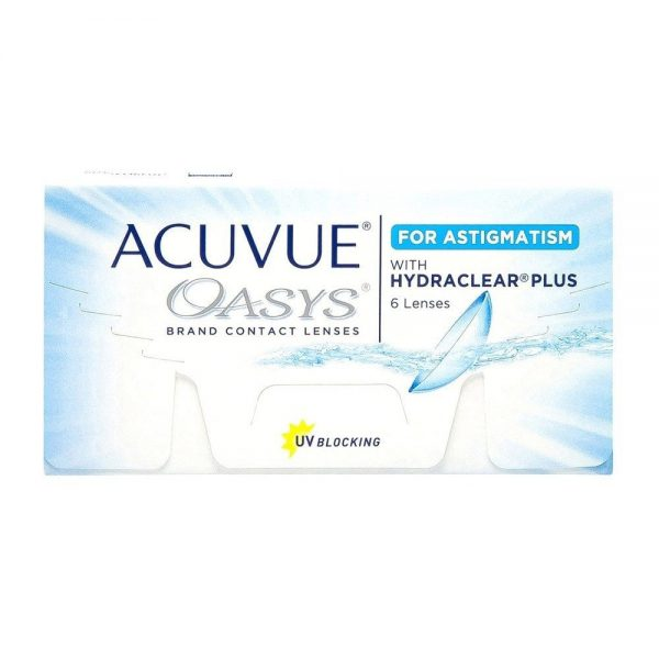 ACUVUE OASYS® for ASTIGMATISM Oasys Toric
