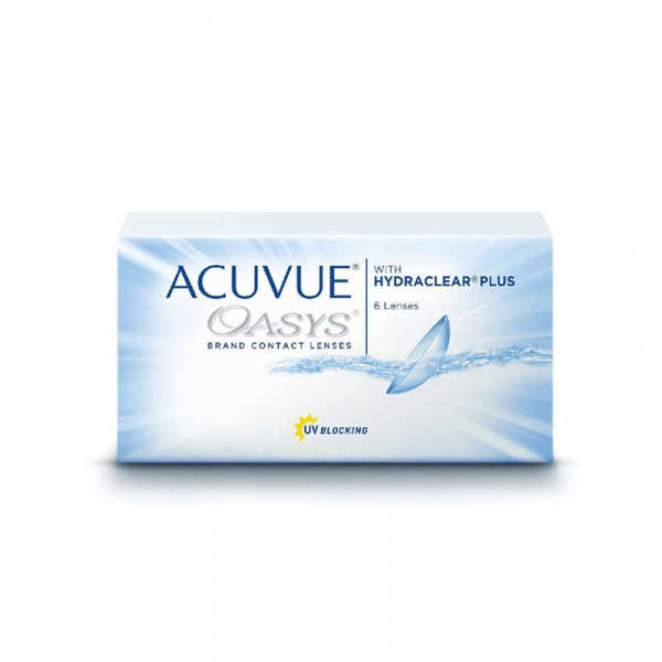Acuvue Oasys, 6pcs Silicone Hydrogel 2-Week Contact Lenses