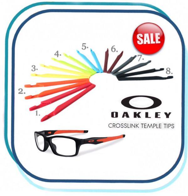 Glasses Temples Tips Fit For Oakley Glasses Model CROSSLINK